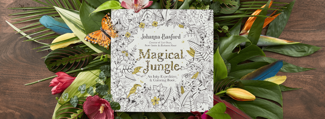 A Conversation With Adult Coloring Book Artist Johanna Basford